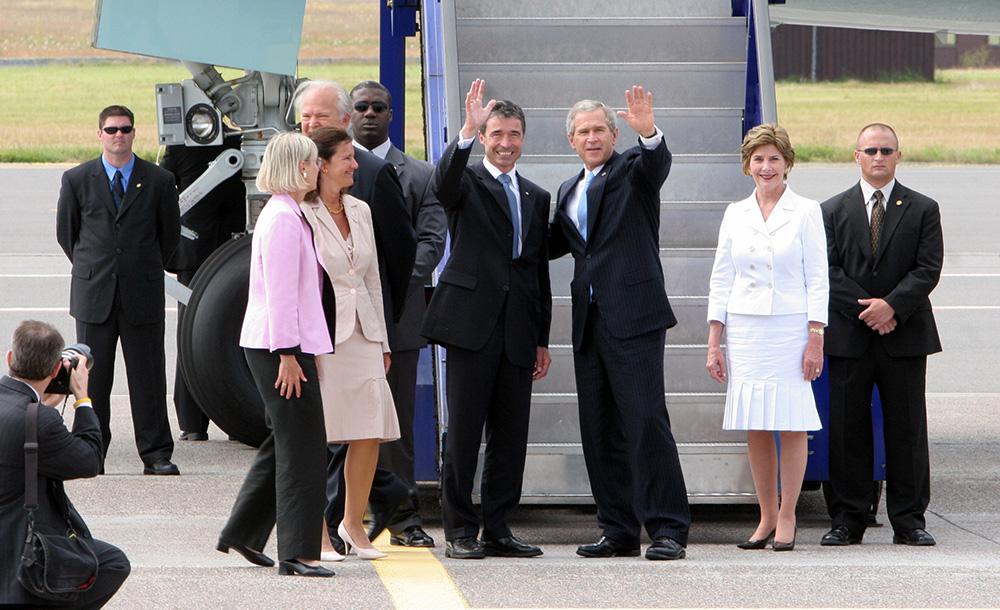 Præsident--George-Bush--USA